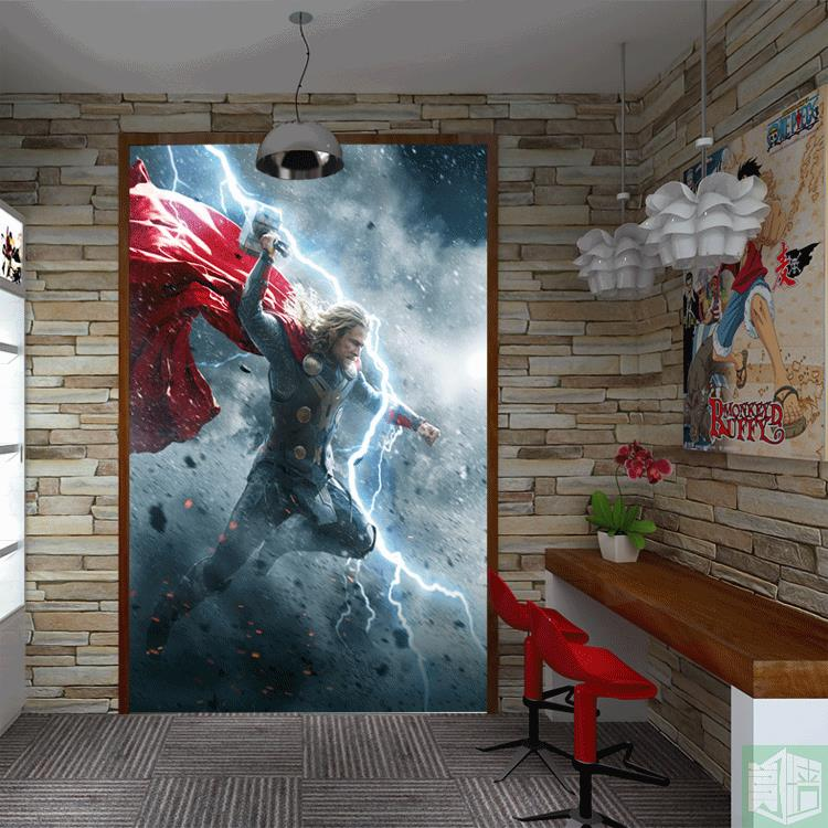 Popular marvel superheroes wallpaper buy cheap marvel for Chinese movie mural