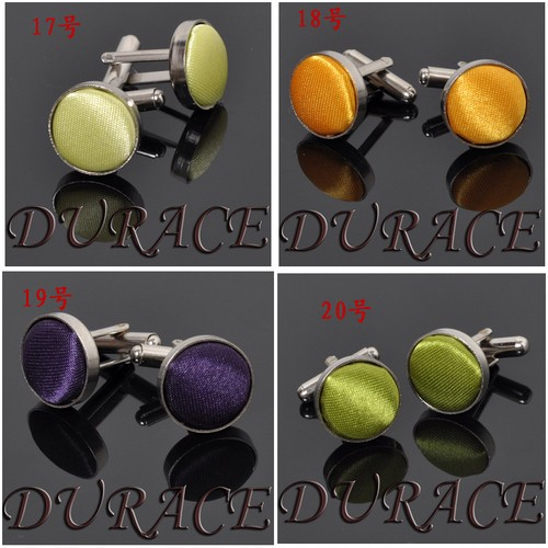Cloth Round Cufflinks6