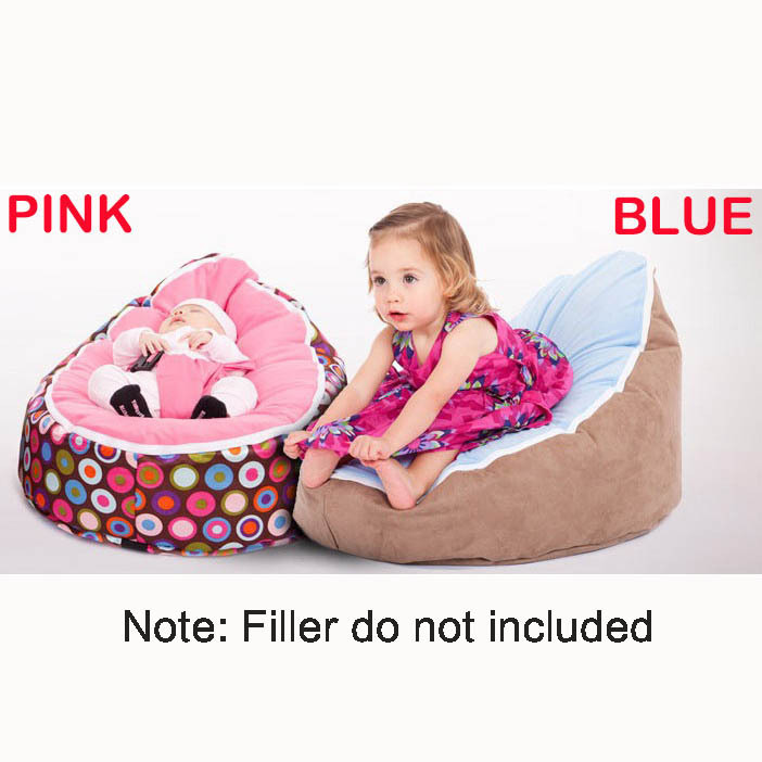 Baby bean bags bed baby sleeping beanbag chair Newborn sofa cama baby bed sofa with harness Filler do not included(China (Mainland))