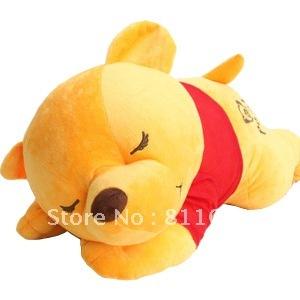 Large high quality low price  yellow  Plush Animals  bear doll plush toy  birthdays gift free shipping