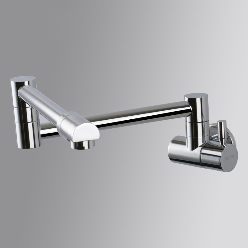 Cheap Price Wall Mount Bathroom Kttchen Faucet Single Handle Kitchen ...