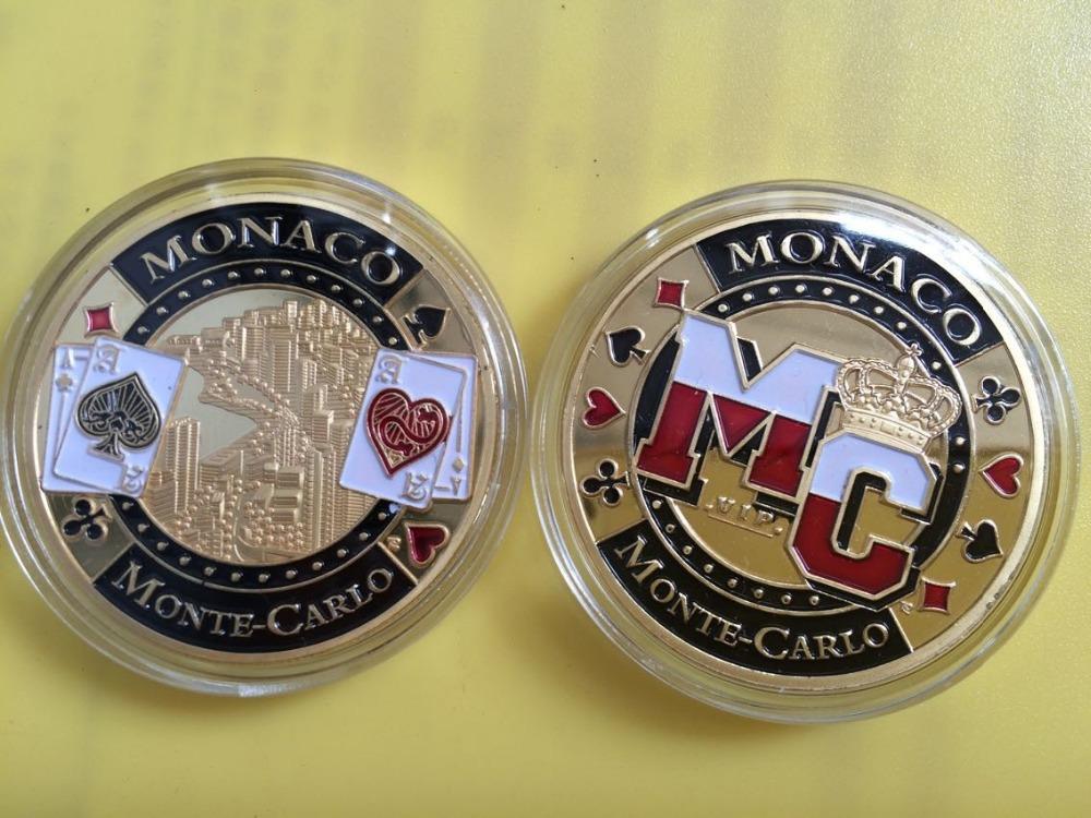 Monte Carlo Monaco Casino Poker 20pcs/lot Monaco Monte-carlo