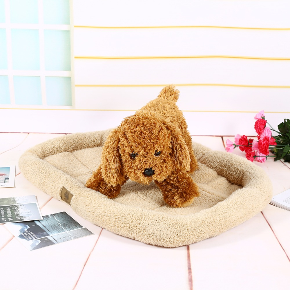 Hot Sale Soft Plush Dog Cat Pet Bed Cushion Puppy Mats Crate Cage Floor Mattress for Cars(China (Mainland))