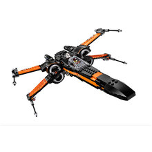 Buy New LEPIN Star Wars First Order Poe's X-wing Fighter 79102 Building Blocks Compatible 79209 STAR WARS Gifts Toys for $25.00 in AliExpress store