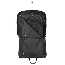 Lightweight Black Nylon Business Dress Garment Bag With Hanger Clamp Waterproof Suit Bag Durable Men'S Garment Suit Travel Bag(China (Mainland))