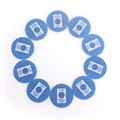 10 NFC Tags Contactless Read Write Tags S50 RFID Cards Stickers Waterproof 13 56 MHz 1024Bit