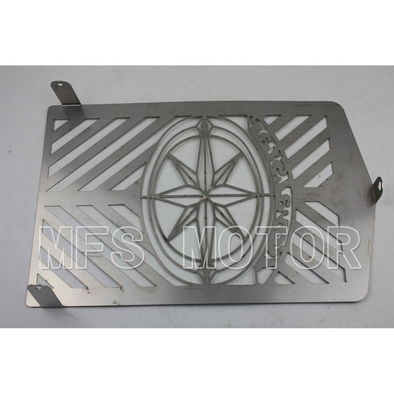 Motorcycle Radiator Grille Cover Stainless Protector Fit For Yamaha XVZ13 Royal Star chrome<br><br>Aliexpress