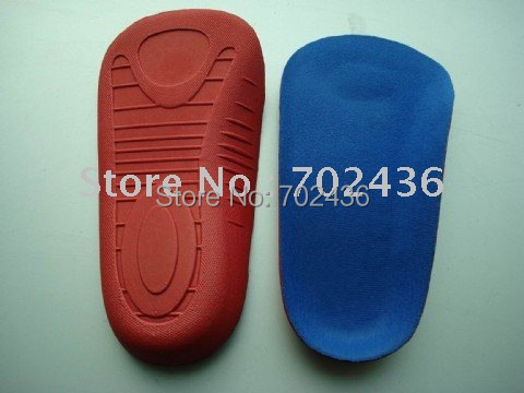 Arch support EVA 3/4 sport insoles orthotic shoe inserts atheletic shoe insole 2 pcs=1 pairs(China (Mainland))