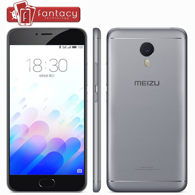 "Original Meizu M3 Note 4100mAh MTK Helio P10 Octa Core Full Metal 2G RAM 16G ROM 13MP LTE 4G 5.5 "" 1080P Flyme 5.1 Mobile Phones"
