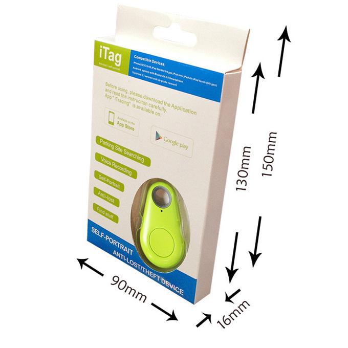 2015 Hot Smart Tag Bluetooth Tracker Child Bag Wallet Key Finder GPS Locator Alarm 4 Colors