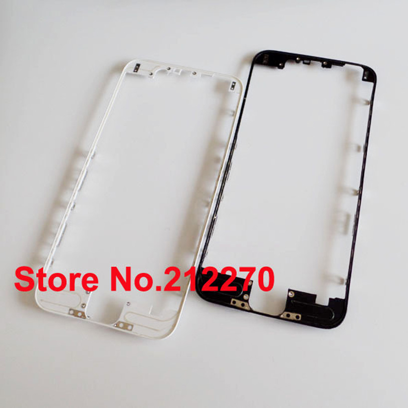 "Free DHL EMS New Front Middle Frame Bezel With Hot Glue Replacement Parts For iPhone 6 4.7"" 200pcs/lot"