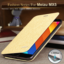 Original MOFI Luxury Meizu Mx5 Flip Cover Case Meizu Back Cover for Mx5 Silicon Inner Case Meizu Mx5 Case Cover