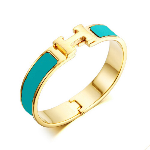 New Arrivaling Elegant Clic Enamel Bracelet,18K Gold Plated Metal,Distinctive Emerald Color Enamel,For Every Pretty Women(China (Mainland))