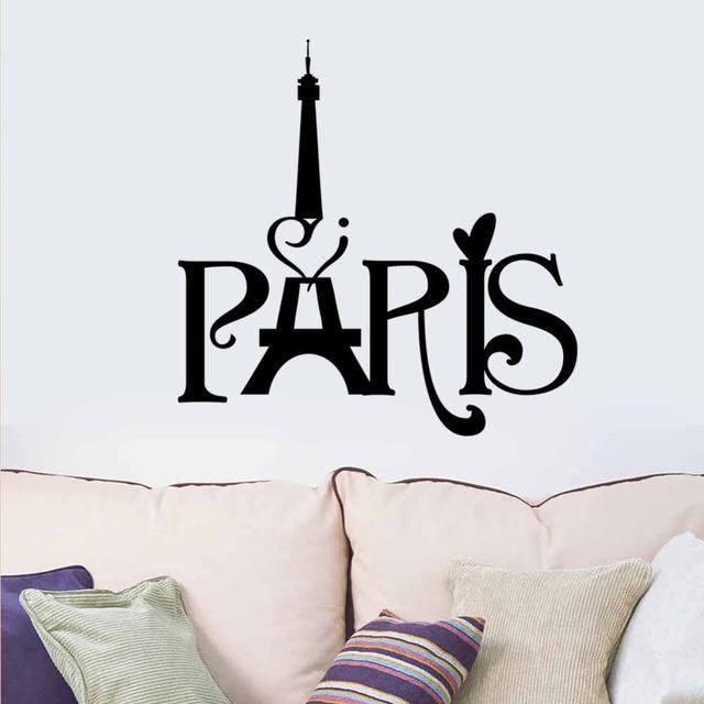 Париж эйфелева башня гобелены гостиная спальня оформление фона 8511 декор стикеров стены домой