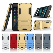SONY Xperia E5 Case Plastic 5.0 inch Anti Knock Hard Armor Back Cover Cases Sony F3311 Phone Bags Stand Holder - Y-Jane's store