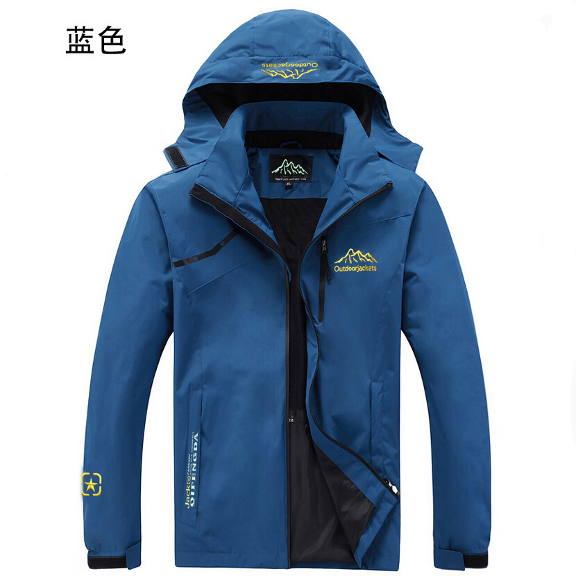 Autumn winter the new men outdoor jackets motion for Waterproof fishing jacket
