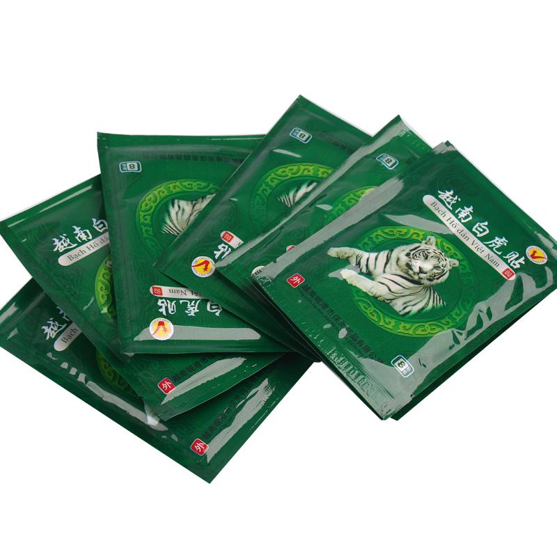 40 Piece/lot Vietnam White Tiger Meridians paste Rheumatoid arthritis Lumbar spondylosis Cervical spondylosis tiger balm plaster