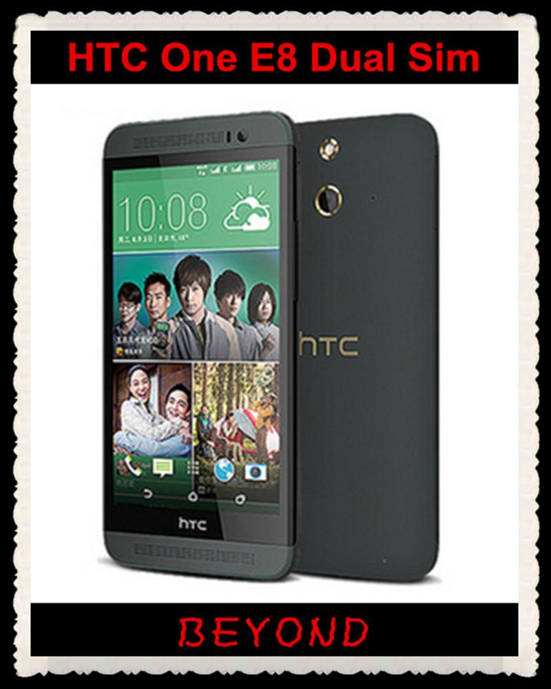 "HTC One E8 Dual Sim Original Unlocked GSM 3G&4G Android Quad-core RAM 2GB Mobile Phone 5.0"" WIFI GPS 13MP 16GB dropshipping(China (Mainland))"