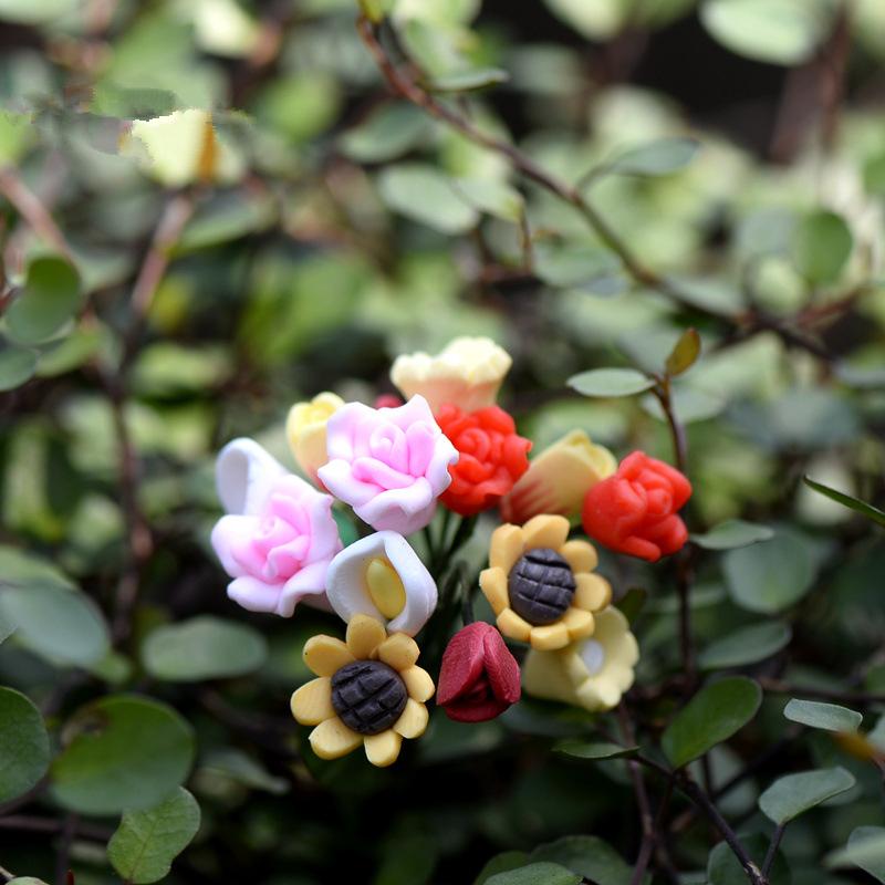 Flores artificiales en miniatura compra lotes baratos de for Jardines verticales artificiales baratos