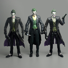 Brand New DC Cartoon Batman:The Joker Gun/Knife 3 Different Version 18cm PVC Cool Action Figure Model Toy Gift/Kids - china store