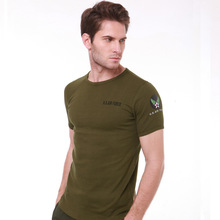 Buy Famous Brand Slim Fit Bodybuilding Compression T Shirt Men USA Army Camouflage Counter Strike Aeronautica Militare Men T-Shirt for $14.32 in AliExpress store