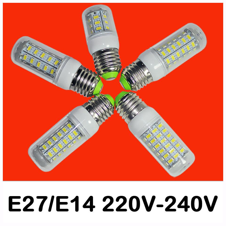 Светодиодная лампа 1pcs/Lot 9w 12W 15w 20W 25w E27 E14 AC 220V 5730SMD led