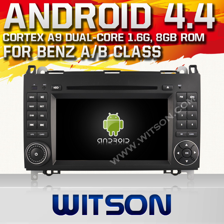 WITSON Android 4.4.4 CAR DVD for BENZ A CLASS B CLASS Viano Vito Sprinter CAPACTIVE HD 1024X600 Screen Built in 8GB Flash+ GIFT<br><br>Aliexpress