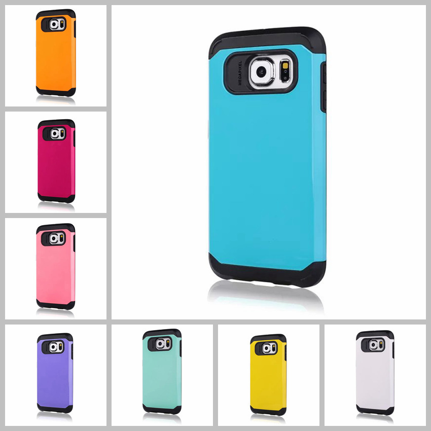S6 New Damda Slide tough armor cover for Samsung Galaxy S6 case accessories G9200 durable Capa Mobile phone bags protector back(China (Mainland))
