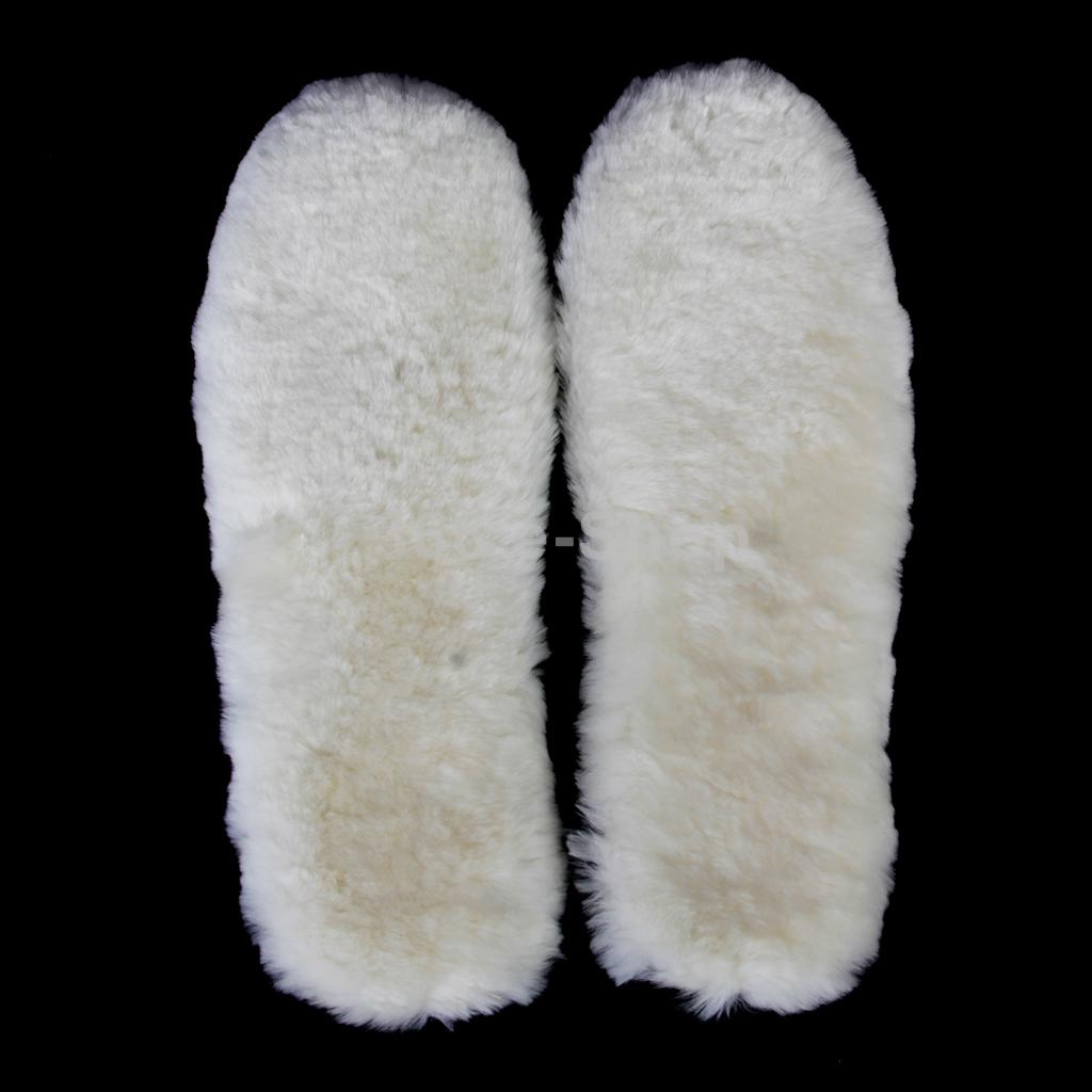 SPMART Footful Footful 1 Pair of Thick Fluffy Shoes Boots Insoles Childrens UK 4-5---Off White<br><br>Aliexpress