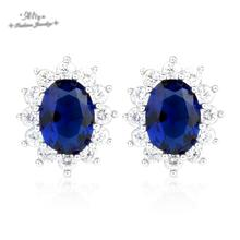 boucles d'oreille 2015 new Hot Sale Fashion brand jewelry sunflower powder crystal Stud earrings For Women Brincos Free Shipping(China (Mainland))