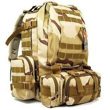 NEW MOLLE 51783 3 DAY BIG BUG OUT BAG ASSAULT PATROL BACKPACK 3 POUCH SET