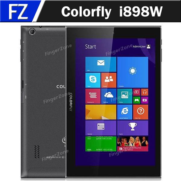 "In Stock Colorfly i898W 8.9"" IPS Screen Windows 8.1 Intel Z3735F Quad Core 2GB Ram 32GB Rom 3G WCDMA Tablet PC Phablet GPS(China (Mainland))"