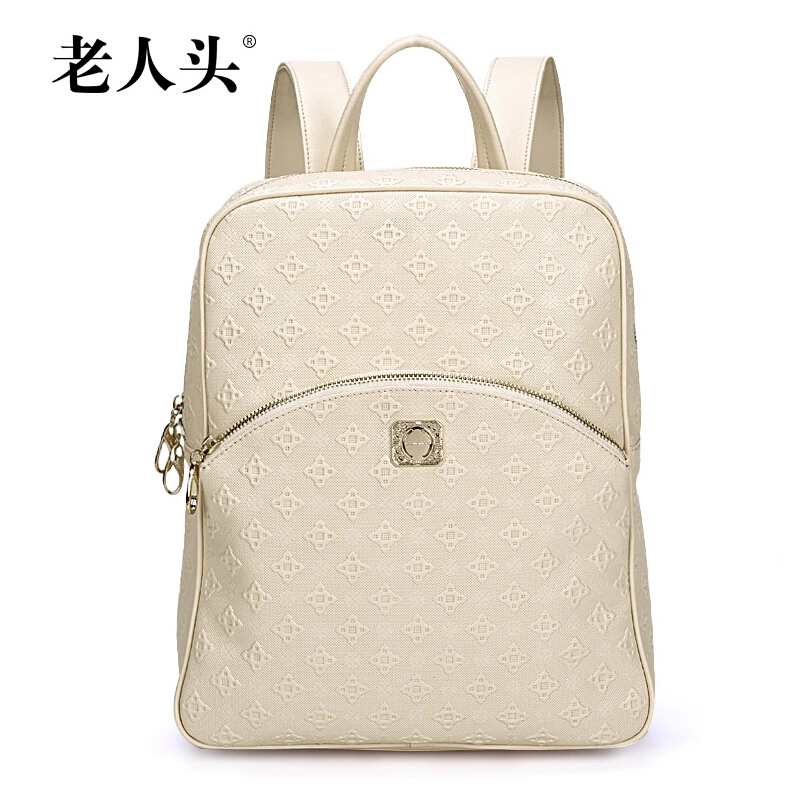Top Quality genuine leather bag famous brands women bag fashion Beautifully embossed Genuine Leather shoulder bag small backpack<br><br>Aliexpress