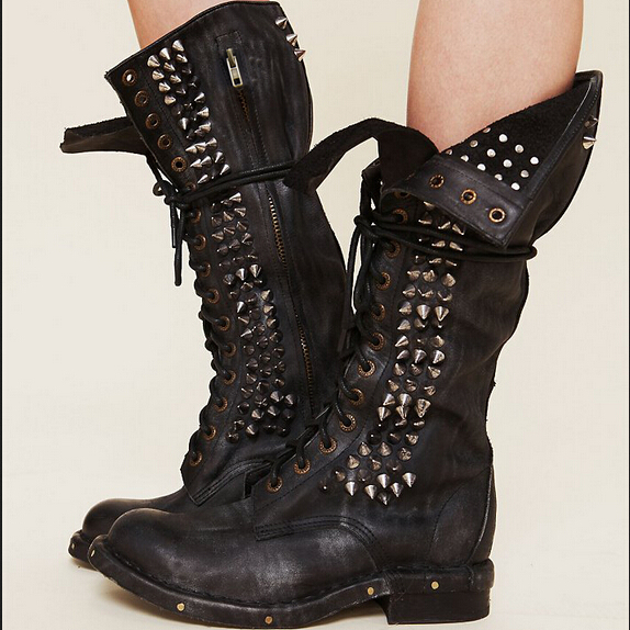 Combat Boots Ladies