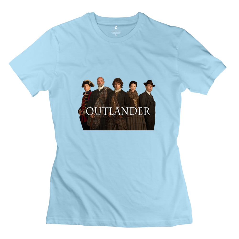 2015 Sport Outlander And Logo Women t-shirt Simple Style Short Sleeve 100% Cotton Lady T Shirt Cheap Price(China (Mainland))