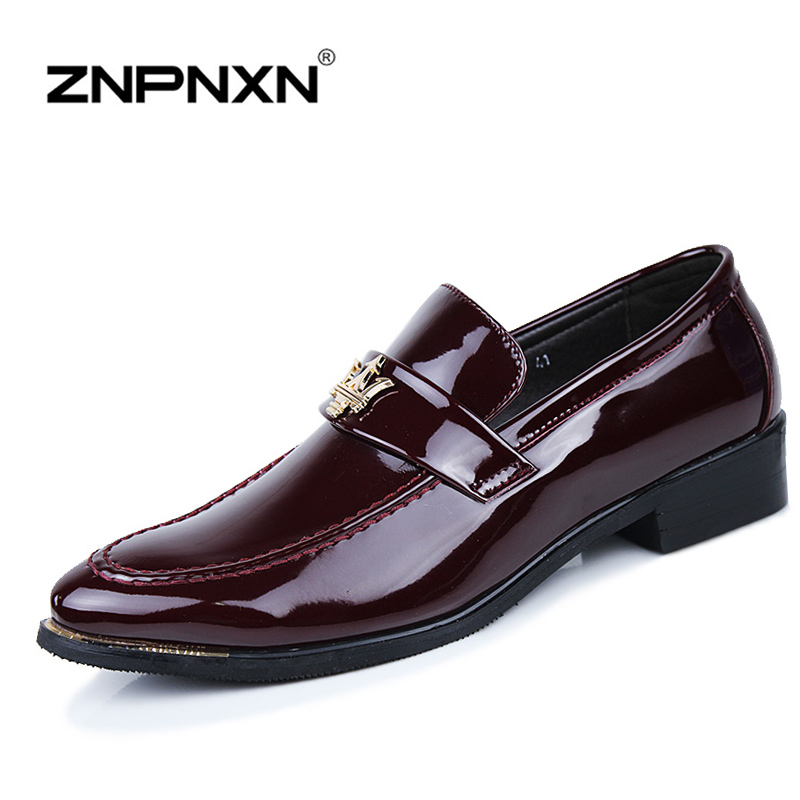 15 Fashion Flats Men Formal Shoes Casual PU Leather Men Flats Oxfords Shoes For Men Loafers Casual Man Moccasin Sapato Masculino