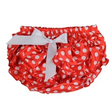 KNB Baby Summer Cute Pettiskirt Infant Girls Short Panties Dots Pattern Imported Carters Design Ruffles Diaper for Newborn ES002(China (Mainland))