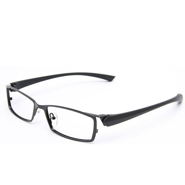 2016 я - яркий мужские отдыха титанового сплава оптический очки кадр бренд TR90 близорукость ...