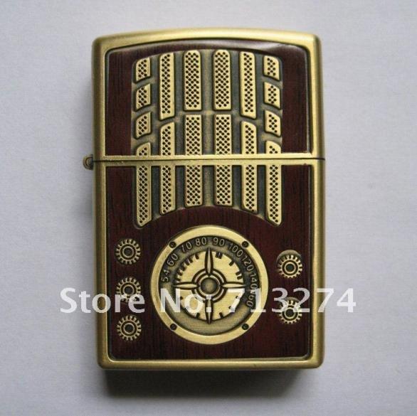 Star6159 wood grain Lighter Vintage Oil Cigarette Lighter Classic windproof lighter Best Gift(China (Mainland))