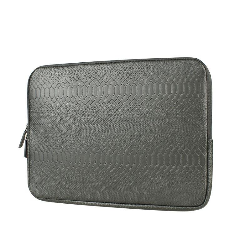 Hot Snake skin Leather Sleeve Case 12 13 14 15 15 6 inch Laptop Bag 13
