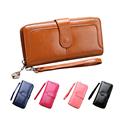 2017 Brand Cowhide Wallet Women Leather Wallet Portefeuille Femme Purse Zipper Ladies Fashion Wallets Long Wallets