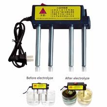 Nueva calidad del agua Tester purificadores de agua electrolizador TDS detección de metales pesados Detector aparato de electrólisis del agua