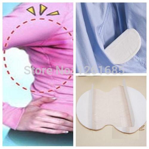 100 Disposable Sweat Pad Antiperspirant Underarm Armpit Guard Sheet Shield Fresh Perfume Substitute Brand Deodorant Desodorante(China (Mainland))