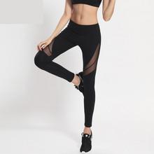 Buy Black Mesh Casual Leggings Women Fitness Leggings Color Block Autumn Winter Workout Pants New Arrival Mesh Insert Leggings K-39 for $18.73 in AliExpress store