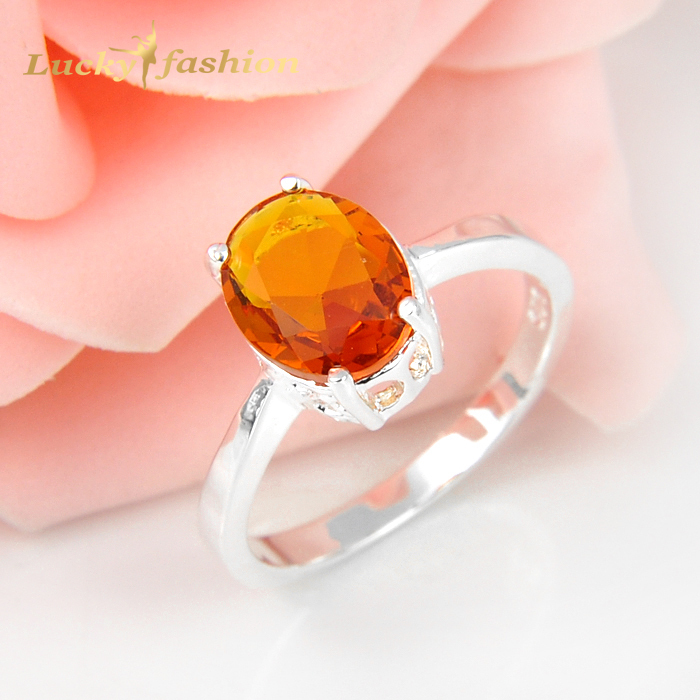10 Pieces 1 Lot Mix Size Oval Brazil Citrine 925 Sterling Silver Wedding Rings Russia USA Holiday Gift Rings Australia Rings(China (Mainland))