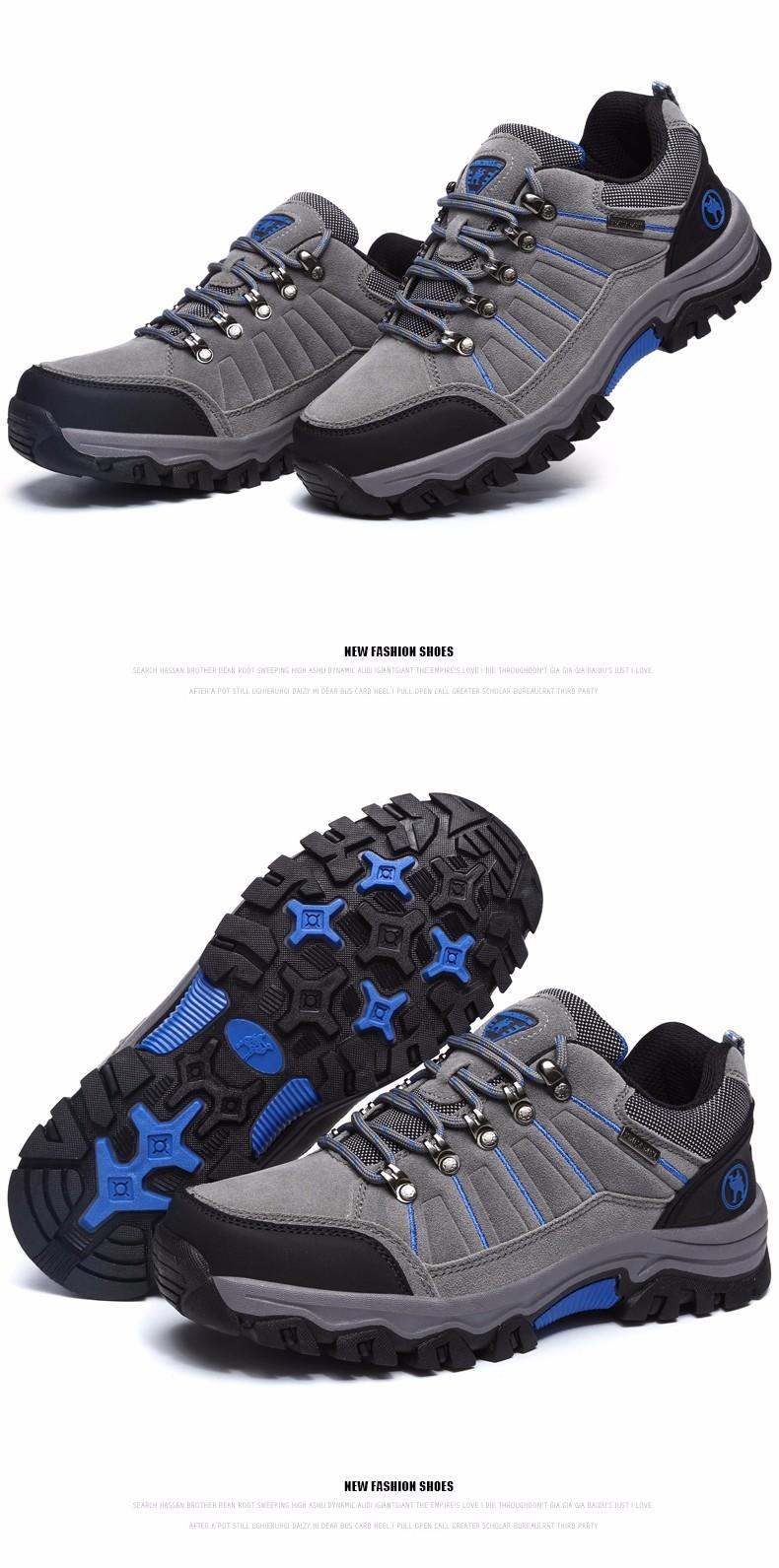 MVVT 2016 Fashion Walking Climbing Shoes men Brand Top grade Fine quality Mountain Boots Trekking Mountain Climbing outdoor shoe