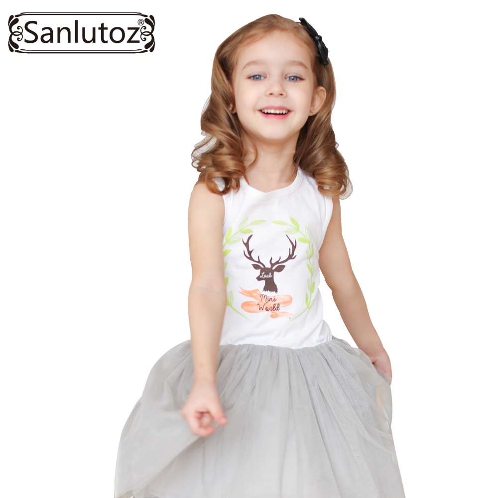 Girls Clothes Summer Girl Dress Children Clothing 2016 Brand Fashion Cute Party Tutu Dress for Girls Toddler(China (Mainland))