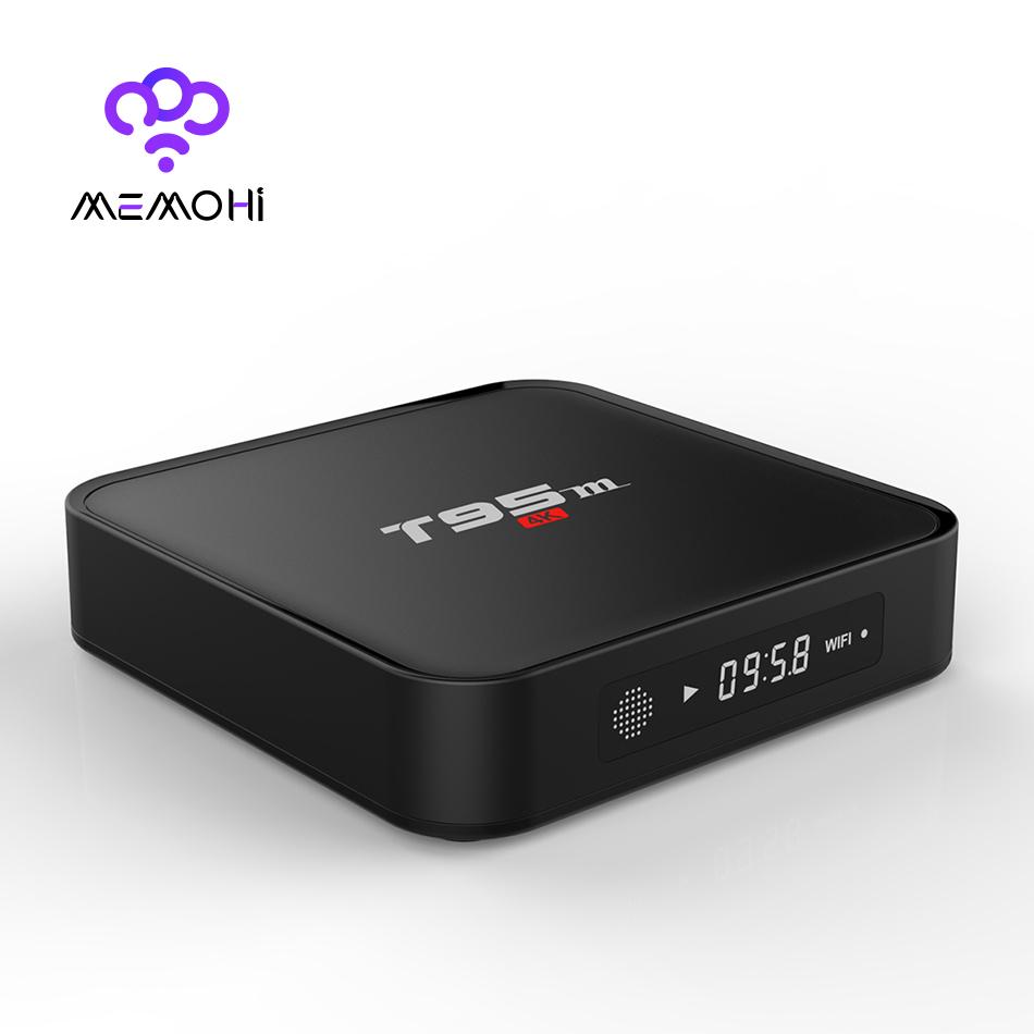 MEMOBOX T95M Android TV Box Quad Core Amlogic S905 64bit UHD 2K*4K Media Player HDMI 2.0 KODI Miracast DLNA Airplay Smart TV Box(China (Mainland))