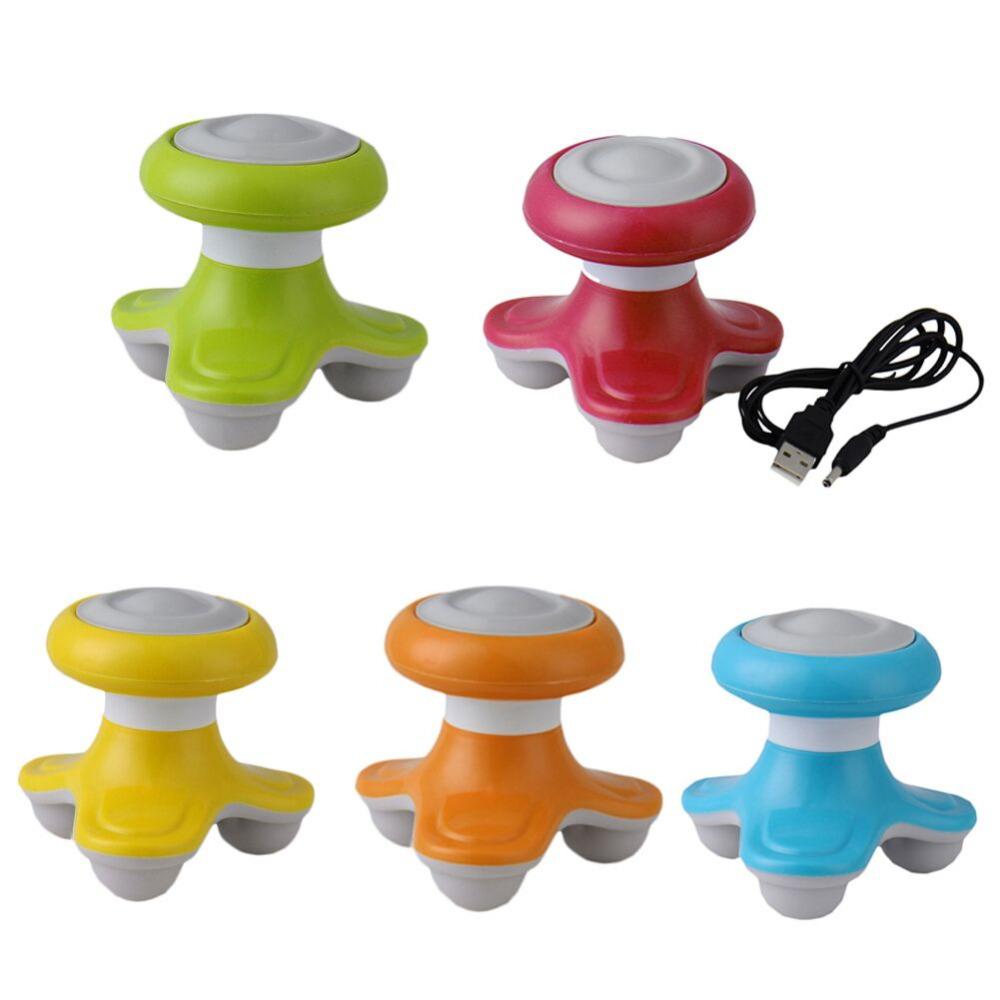 New Mini USB Electric Handled Wave Vibrating Massager Full Body Massage Free shipping(China (Mainland))