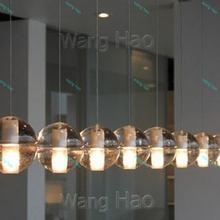 2015 7 Lights New Arrive Crystal Pendant Light Ball Meteor Shower Fixtures Led Bulbs Lamp Home Deco Lighting Guaranteed 100%(China (Mainland))